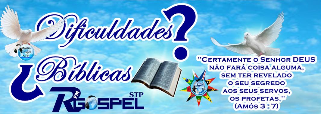 Dificuldades Bíblicas